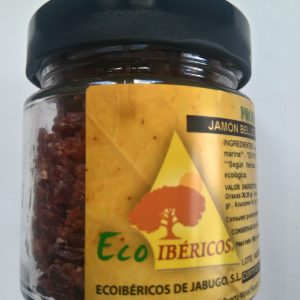 Chips of Ecological Ham 100% Iberian acorn. Vacuum packaging - ECOIBÉRICOS®