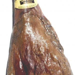 Acorn-fed organic ham 100% Ibérico. ECOIBERICOS®