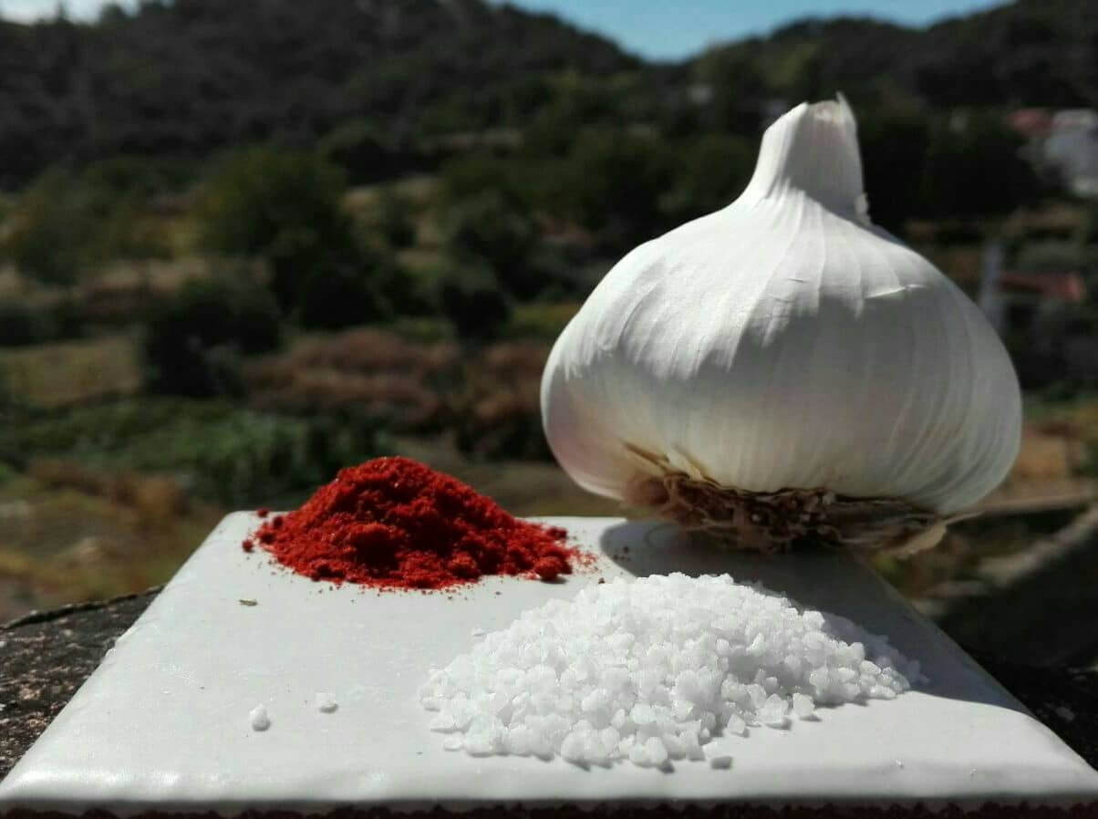 GARLIC, PEPPER AND SALT - ECOIBERICS