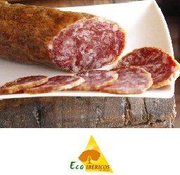 Salchichón loncheado ecológico 100% ibérico de bellota ECOIBÉRICOS®. 100g
