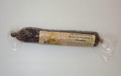 Salchichón Extra 100% iberico bellota ecologico.1 Kg