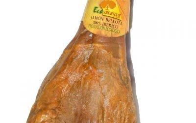 Jamón ecológico Bellota 100% Ibérico. ECOIBÉRICOS®