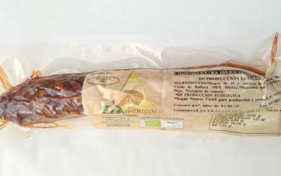 Chorizo EXTRA Ecológico 100% Ibérico de bellota. Ecoibéricos®  0,50Kg aprox.