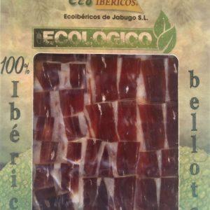Jamón loncheado ecológico de bellota 100% ibérico. ECOIBÉRICOS® 100g