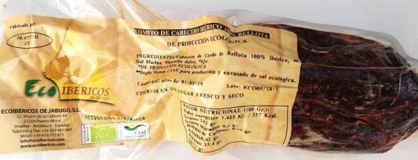LOMITO DE CABECERO BELLOTA 100% IBÉRICO - ECOIBÉRICOS