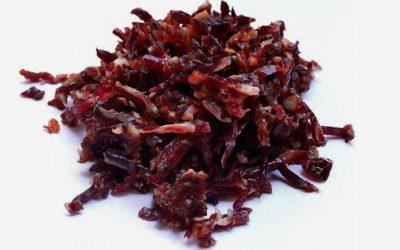 Virutas de Jamón Ecológico 100% ibérico de bellota. Envasado al vacío – ECOIBÉRICOS®