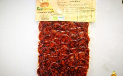 Chorizo EXTRA ecológico 100% ibérico de bellota. ECOIBÉRICOS® Loncheado 100g