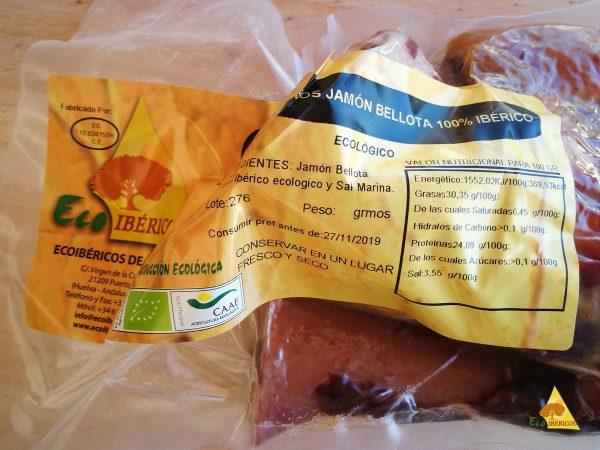 ECOLOGICAL HAM BONOTA 100% IBERIAN BONES