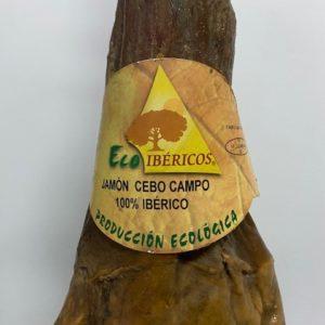 Jambon ibérique d'appât 100% biologique. ECOIBÉRICOS®